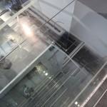 Image de chantier de l'installation EPFL/EcalLab