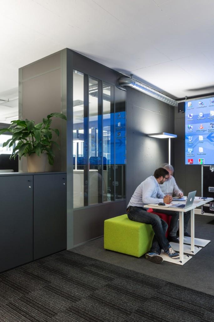 Réception et salle de meeting