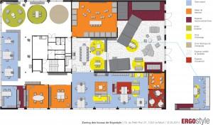 Plan d'implantation - zoning